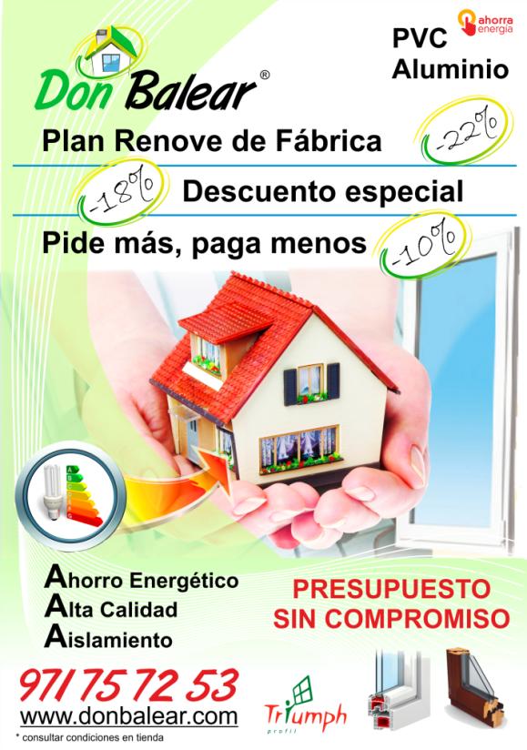 Ventanas PVC Mallorca - Ofertas Especiales
